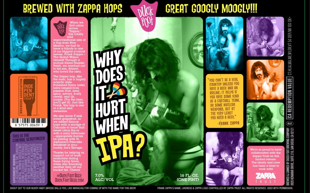 Frank Zappa and the Mothers of Fermentation